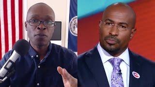"Van Jones Embarrassed Black Men With His ""Whitelash"" Speech LIVE on CNN Against Trump (REACTION)"