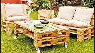 إبتكارات بسيطه | لاعادة تدوير المنصات الخشبيه   Simple innovations | Recycling wood pallets