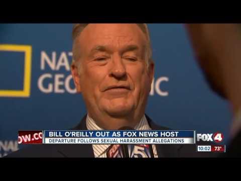 Bill O Reilly out as Fox News host