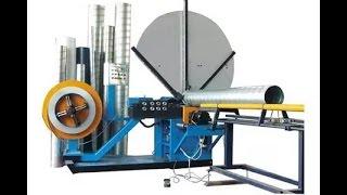 China Prima Round duct Spiral duct manufacturing machine with 1500mm diameter, spiral duct machine