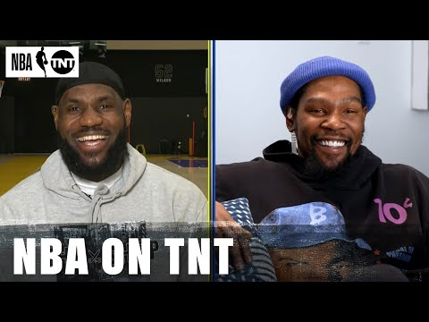 LeBron James and Kevin Durant Draft Their Teams for the 2021 NBA All Star Game NBA on TNT