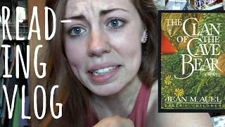 THE CLAN OF THE CAVE BEAR by jean m. auel | Reading Vlog