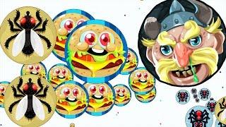 Agar.io Let's Team And Trick Split On Mobile Challenge Agario LIVE STREAM!