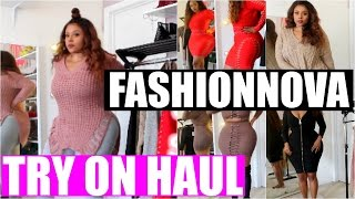 Fashion Nova Try On Haul- Jeans, Dress, Plus- Size, Curvy
