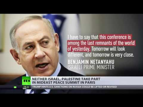 watch 'Pointless' Peace Parley : Israel, Palestine don't take part in Middle East summit