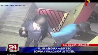 SJL: mujer denuncia que fue dopada y violada por taxista