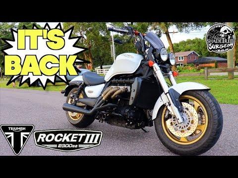 Download Lagu The return of the Triumph Rocket 3 MP3
