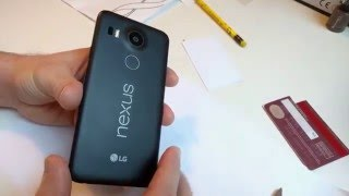 How to remove Nexus 5X Back Cover