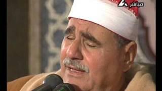 الشيخ السيد متولي عبد العال وقرآن الفجر يوم 18 إبريل 2007م