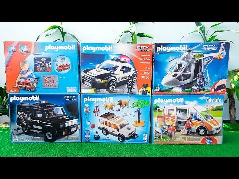 Xxx Mp4 Fire Truck Police Cars Ambulance Helicopter Trucks Toys Unboxing PLAYMOBIL Vehicles For Kids 3gp Sex