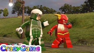 LEGO Speed vs The #Flash Free Roam - #LEGO MARVEL's Avengers MOD