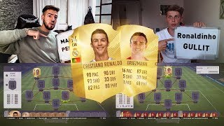 FIFA 18: REAL MADRID vs ATLETICO SQUAD BUILDER BATTLE 🤑😍Fifagaming vs Wakez😱