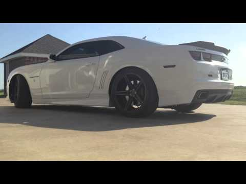 2012 Camaro SS Cammed/Supercharged - QTP Cutouts Idle