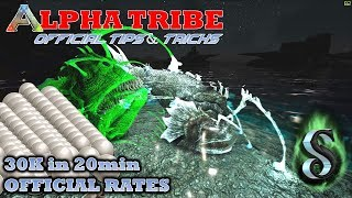 30K PEARLS in 20min !!! OFFICIAL ALPHA TRIBE TIPS & TRICKS!!! BEST WAY TO FARM SILICA PEARLS!!!