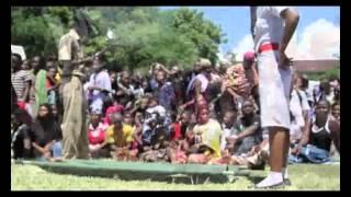 Burial ceremony of Tanzania