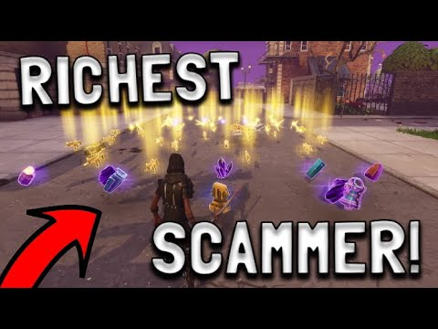 Xxx Mp4 RICHEST Scammer Gets Scammed For Whole Account In Fortnite Save The World Pve 3gp Sex