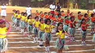 Neermita's drill in School  Annual Sport - 2009.wmv
