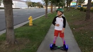 ILLEGAL HOVERBOARD TRIP!