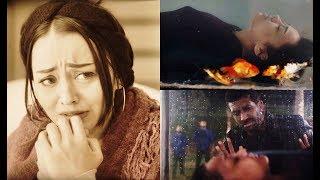 أصعب مشهد في مسلسل الأب الروحي ... موت حبيبتك قدام عينيك بسببك! 😢🥺😥