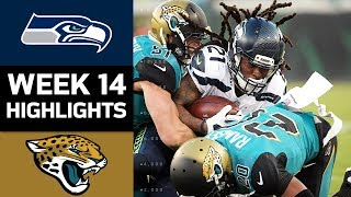 Seahawks vs. Jaguars | NFL Week 14 Game Highlights