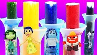 DIY Disney Pixar Markers Compilation Inside Out Disney Toys Crayola Marker Kit