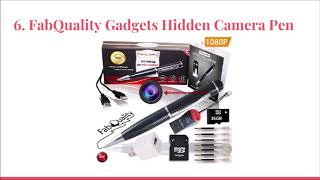 Top 10 Best Hidden Spy Cameras in 2019
