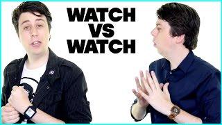 Apple Watch VS Actual Watch - PARODY