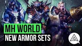 Monster Hunter World | All New & Returning Armor Sets so Far