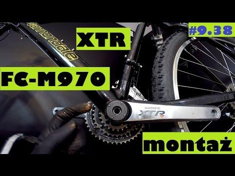 Korba Shimano XTR FC-M970 montaż i demontaż. Serwis roweru z SzajBajk.