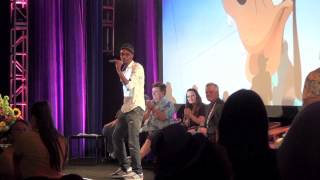 """Tevin Campbell performs live at Disney's """"A Goofy Movie"""" 20th Anniversary reunion at D23 Expo 2015"""