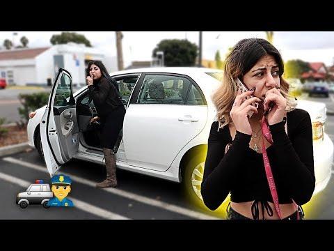 Xxx Mp4 CRAZY STOLEN CAR PRANK GONE WRONG SHE CALLED 911 3gp Sex