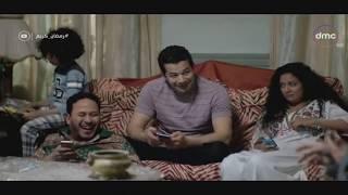 لما تكون بتلعب في التليفون انت وأخواتك وفجأة يدخل عليك أبوك /-  مسلسل رمضان كريم