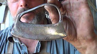 Blacksmithing - Forging A Herb Chopper - Gen 2 - Language and Injury Warning