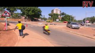 Jennifer Musisi commissions new traffic lights at Fairway junction