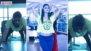 Actress Aarti Chabria Unseen WorkOut Videos   Aarti Chabria   Tamil Actress unseen Videos
