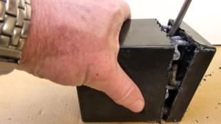 Tear down of lead acid gel cell battery. What's inside?