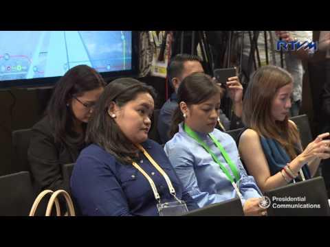 Press Conference by DPWH Sec. Villar DOTr Sec. Tugade and BCDA Pres. CEO Dizon 4 27 2017