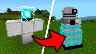 How To Spawn DALEKS in your Minecraft World! (Doctor Who Mod)