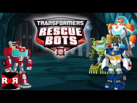 Transformers Rescue Bots: Save Griffin Rock (By PlayDate Digital) - iOS / Android - Gameplay Video