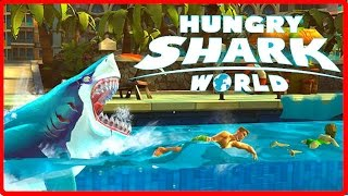 Hungry Shark World Ep 1 - NEW MAPS, SHARKS & GADGETS - Hungry Shark Evolution 2!