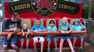 Baby Michael's First BIG BOY RIDE at Silver Dollar City