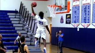 Christian Popoola Jr. Is A PITBULL At The Point Guard Position!! Raw Footage Highlights