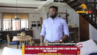 INSIDE KUNLE AFOLAYAN'S MULTI MILLION NAIRA HOME... HE CALLS IT