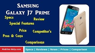 Samsung Galaxy J7 Prime - Review with Full Specifications