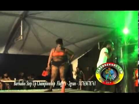 Fluffy Girls  Dancehall  Championship Battle - Barbados 2013