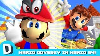 We Play Super Mario Odyssey... In Mario 64?!