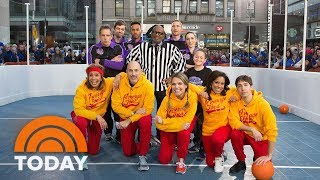 Ben Stiller And Justin Long Join The TODAY Anchors To Play Dodgeball For Charity | TODAY