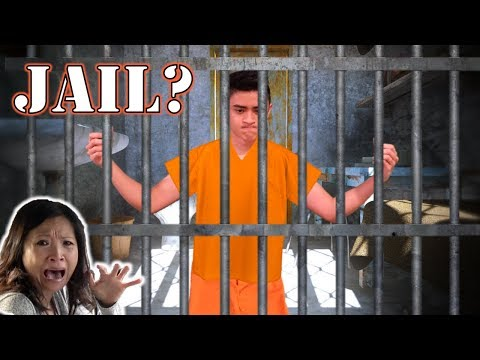 GOING TO JAIL PRANK ON OUR MOM!