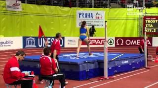 Campionati Europei Indoor Praga 2015 - Finale Salto in Alto donne - Alessia Trost