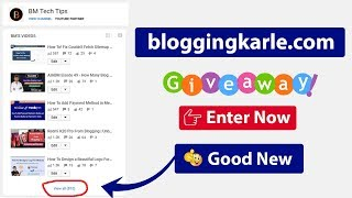 🎁 Bloggingkarle.com Giveaway   Win a free .com domain
